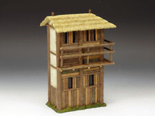 IC052 Left Stockade Tower  Imperial China King & Country Model Miniature Diorama