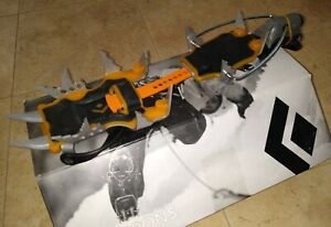 NEW. Black Diamond Sabretooth Clip Crampons