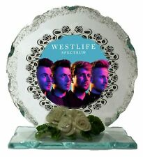 Westlife Cut Glass Photo Plaque Collectable Gift for The Fan