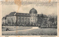 AK Posen Ansiedelungs - Kommission Postkarte gel. Inft. - Regt. 133