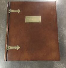 The Thompson Medallic Bible. 60 bronze medals complete with Gorgeous Box
