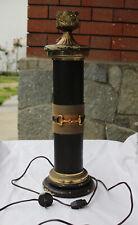 GUCCI lampada da tavolo a colonna morsetto GUCCI horsebit column table lamp
