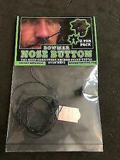 Bowmar Archery Nose Button Black 2 Pack