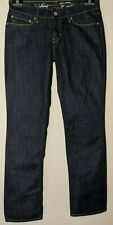 "WOMEN'S LEVI'S JEANS DEMI CURVE STRAIGHT STRETCH BLUE SIZE 9 INSEAM 32"" NEW"