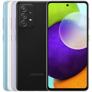 NEW SAMSUNG GALAXY A52 8GB 128GB SM-A526B/DS DUAL SIM FACTORY UNLOCKED PHONE PUR