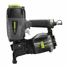 Ryobi AIRWAVE COIL NAILER Nitto-Style Fitting+Carry Case RA-NC1565-K Japan Brand