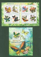 Mosambik Mozambique 2012 - Schmetterlinge Butterflies Papillons Lepidoptera **
