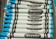 48 CRAYOLA SKY BLUE CRAYONS BULK LOT for COLORING or MELTDOWN ART