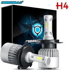 H4 9003 1020W 153000LM CREE LED Conversion Headlights KIT Hi/Lo Beam White 6000K