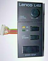 LENCO L 452 Start  33 45 Speed Control Einheit Plattenspieler siehe Bilderserie