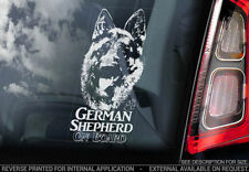 German Shepherd Dog Car Stickers
