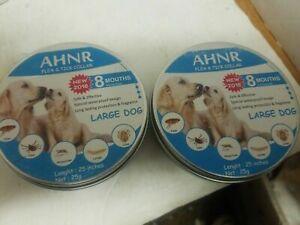 (2) Ahnr Flea And Tick Collar Large  NEW