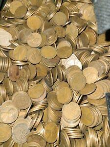 Unsearched Wheat Penny 50 Bag Lot  ~ Free Ship BULK  **ESTATE HOARD**