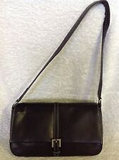 JOAN WEISZ Black Leather Shoulder Bag / Handbag, Excelkent Condition