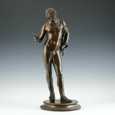 Grand Tour Bronze Dionysos 1880 Narziss Pompeji Neapel Italien Giesserei Sommer