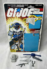 New listing Vintage 1985 G.I. Joe Snow Serpent Weapon, Accessories & File Card - No Figure