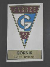FIGURINA CALCIATORI PANINI 1971/72 SCUDETTO GORNIK ZABRE OTTIMA RECUPERATA