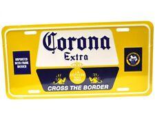 Corona Extra Bier USA Auto Nummernschild Beer License Plate Deko Blechschild