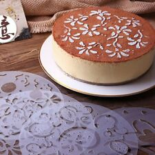 Cupcake DIY Stencil Mold Different Kinds of Pack of 4 Pcs Variety Cake