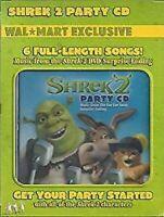Shrek 2 Party CD 6 Songs +6 Karaoke Tracks Party DISC & ARTWORK ONLY NO CASE