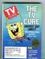 TV Guide Magazine April 5-11 2003 Spongebob EX w/ML 121516jhe