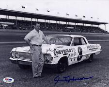 Junior Johnson SIGNED 8x10 Photo Holly Farms NASCAR LEGEND PSA/DNA AUTOGRAPHED