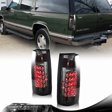 1995-1999 GMC Tahoe Suburban LED Smoke Housing + Smoke Lens Altezza Tail Lights
