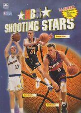 1993 NBA Basketball Shooting Stars Activity Book Including 16 Fleer Cards Rare