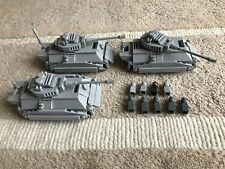 original LEGO PARTS - MICRO - 3 KING TIGER TANK + 9 soldiers - my design CUSTOM
