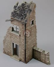 Royal Model 1/48 House Ruin Section in the Battle of the Bulge Ardennes WWII 694