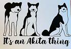 Its an Akita thing decal