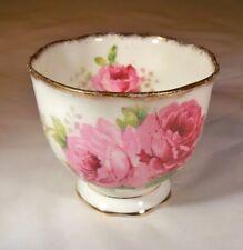 ROYAL ALBERT BONE CHINA ENGLAND AMERICAN BEAUTY ROSE HANDLELESS CUP or  CUSTARD!