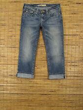 Big Star REMY W25xL23 Low Rise Regular Fit Stretch Cropped Leg Jeans ZWRCFSSCLC