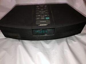 Bose Wave AM/FM Radio Alarm Model AWR1-1W  - Black