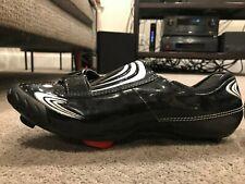 Bont Vaypor Road Cycling Shoes Men Size 9 US  Carbon Soles Black