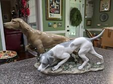 Lladro Attentive Dogs #4957 Hunting