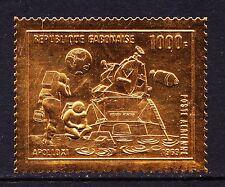 Gabon 1969 primo uomo sulla Luna Oro timbro dello Spazio Apollo-Gomma integra, non linguellato-CAT £ 25 - (117)