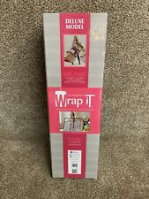 New ListingWrap It Gift Bag Organizer Deluxe Model Christmas Wrapping Paper Organizer