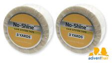 """WALKER No Shine Bonding Tape Roll 3/4"""" x 3 yards, wig toupee hairpiece - 2 rolls"""