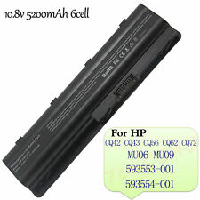 Notebook 6Cell 5200mAh Battery For HP Compap MU06 MU09 593553-001 CQ42 CQ62 CQ72