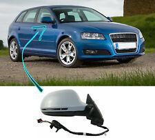Audi A3 5 Door 2008-2010 Door Wing Mirror Primed Powerfold Electric Heated Right