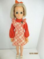 "VINTAGE 18"" IDEAL GROW HAIR KERRY DOLL Cissy family Original Crissy Dress"