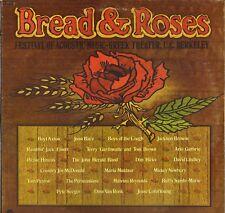 "CONCERT ""BREAD & ROSES"" FOLK ROCK 70'S DOUBLE LP FANTASY 5943"