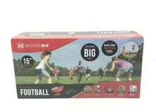 Wicked Big Sports Football Supersized Ball Outdoor Sport Tailgate Backyard New