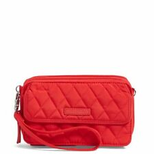 NWT Vera Bradley Womens All-In-One Crossbody For iPhone 6 in Fire Red