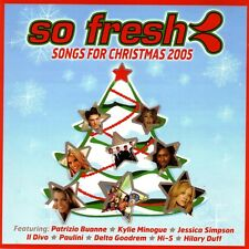 So Fresh Songs Of Christmas 2005 By Various Artists CD 2 Disc Set
