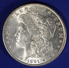 1891-P $1 Morgan Dollar - 90% Silver - #344