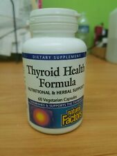 Natural Factors Thyroid Health Formula (60 Vegicaps)