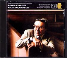 Peter SCHREIER: SCHUBERT Edition Vol.18 Im Walde Frühling Abenlied Hyperion CD