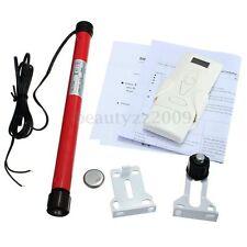 DIY 12V Electric Roller Blind / Shade Tubular Motor W/ Remote Control Kit Set